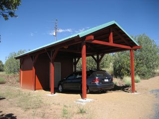 Grand Canyon cabin photo - Carport