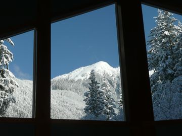 Peak View through Windows
