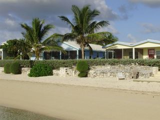 Great Exuma villa photo - Villa 29 - shows how close you are to the beach and the water!
