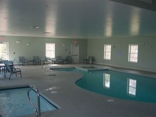 Kennebunkport condo photo - indoor pool and jacuzzi