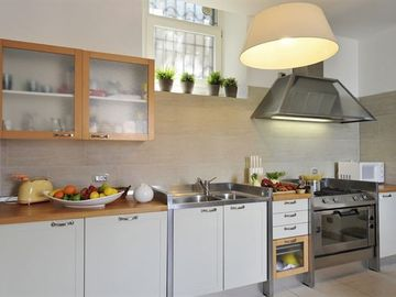 Kitchen provides all the desired appliances