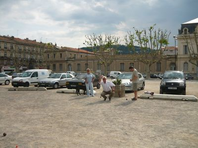 Enjoy a games of boules