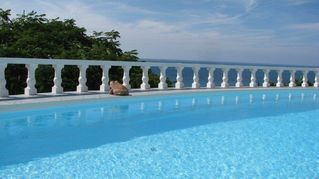 Montserrat villa photo - Sea View from Pool