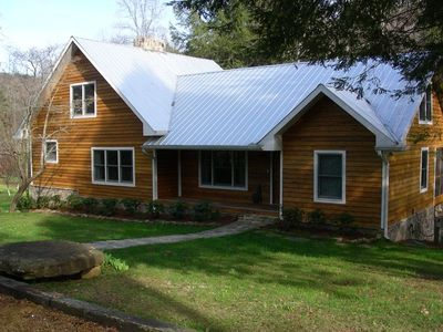 Front of Rock Creek Cabin - A Chattanooga Vacation Rental