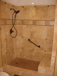 Brand new completely renovated bathrooms. Master has a travertine marble shower!