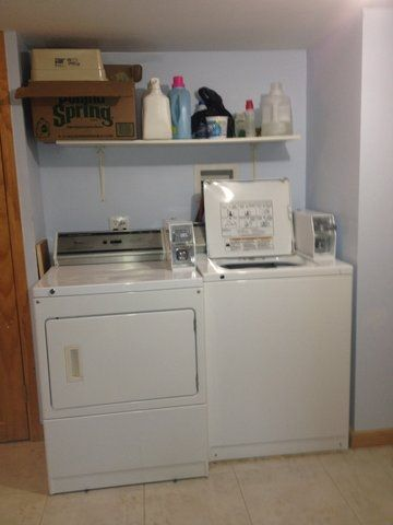 Washer & Dryer on the premises