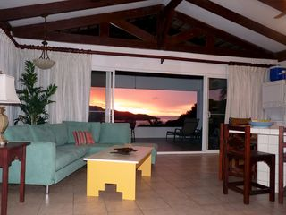 Playa Hermosa villa photo - Sunset view from the great room