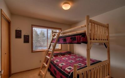 Bedroom #4 with Full & Twin Beds