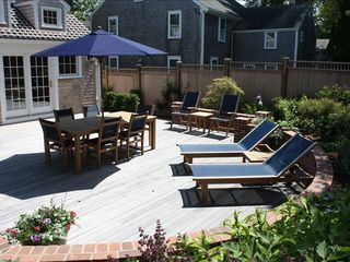 Nantucket Town house photo - Deck