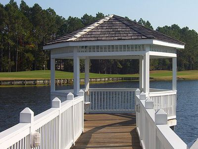 Gazebo near Activities Center