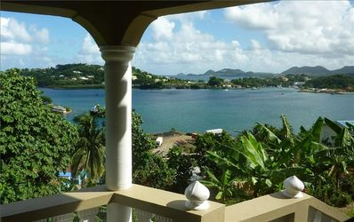 A Perfect Day On LA ROSE Balcony Viewing Castries Bay & The Northern Region