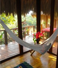 Mountain Pine Ridge villa photo - Hammock on bedroom porch