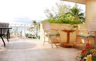 Grand Cayman condo photo - Spacious and inviting private balcony