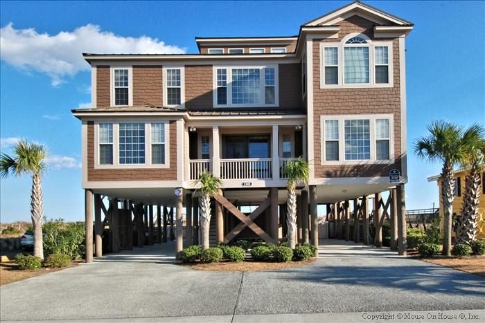 Garden city beach vacation rental vrbo 670780 9 br for 9 bedroom vacation rentals