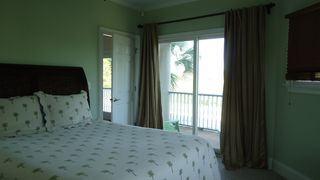 St George Island house photo - Queen bedroom with balconcy