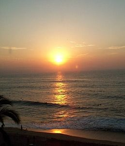 Enjoy stunning sunsets from your balcony