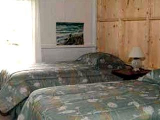 Pemaquid Point cottage photo - Downstairs Twin Bedroom – Two more bedrooms upstairs (With an ocean view).