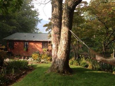 Asheville vacation rental vrbo 470300 1 br smoky for Asheville cabin rentals pet friendly