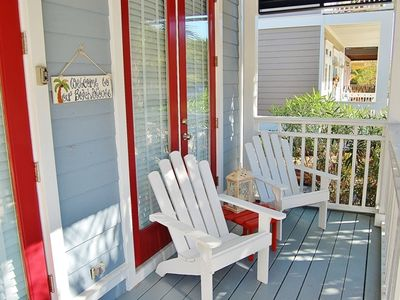 Seacrest Beach - Come enjoy the Gulf breeze on our front porch!
