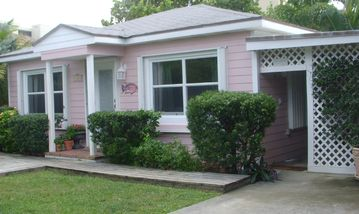 Juno Beach cottage rental - Seaside Cottage... just across the street from the Atlantic Ocean