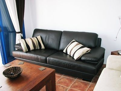 Playa Blanca villa rental - living room area