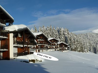 Studio-Mountain In The Heart Of The Espace Diamant