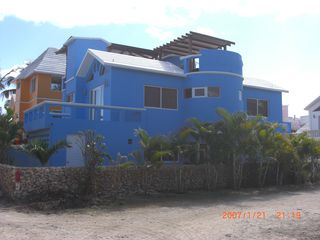 View from street - June 2012 - Cabarete villa vacation rental photo