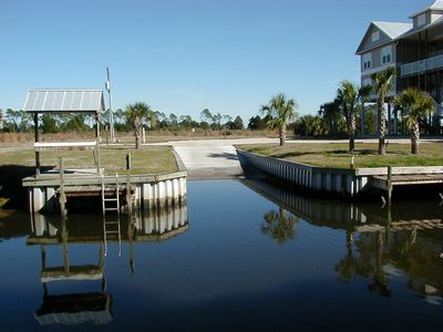 Boat Ramp & Fish Cleaning Station