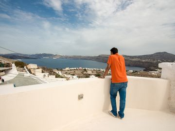 See Santorini Cave apartment with sea view 1