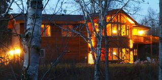 Lutsen lodge photo - Gorgeous at dusk!