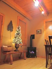 Crested Butte cottage photo - Gas Stove Fireplace!!