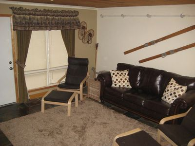 Family room - Couch has been updated with sectional.  Updated photo coming