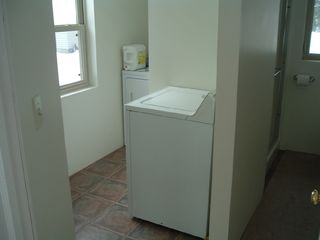 Manistique house photo - laundry