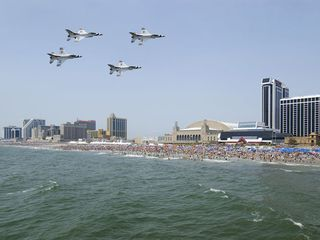 Brigantine townhome photo - AC Airshow scheduled Wednesday 6/26/2013