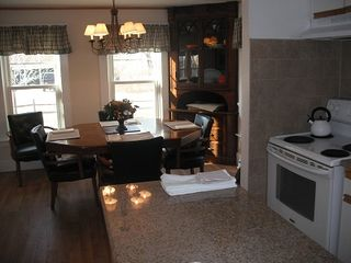 North Conway house photo - Kitchen close to dining area..