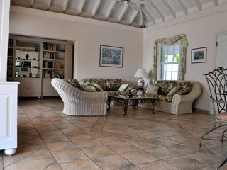 St Barthelemy villa photo - The living room or Sejour
