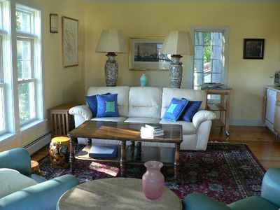 Kittery barn rental - Living Room