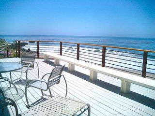 Oceanfront Deck Anyone? - Santa Cruz house vacation rental photo