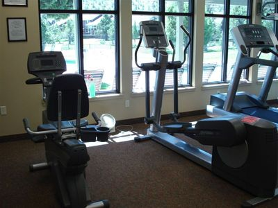 One of 3 on-resort fitness centers.