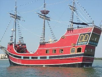 Take a Pirate ship ride. Great with the kids. Leaves from Johns Pass.