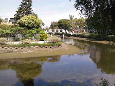 Venice Canals a couple of miles away! A must see.