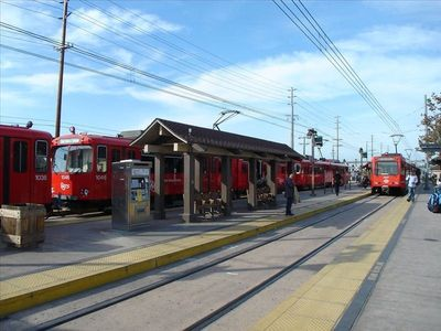 OLD TOWN  TRANSIT CENTER:     TROLLEY, BUSES, TRAINS & CABS