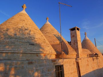 Sunset At Trullo Bellavista