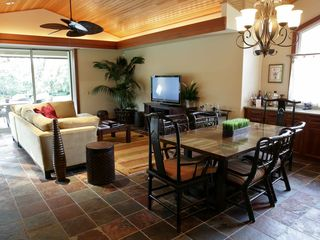 Mauna Lani villa photo - Open, airy living spaces with direct patio access