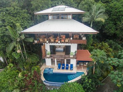Balinese style of tropical open living