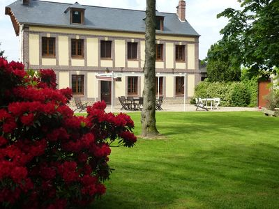 CHARACTER HOUSE ST MACLOU BRIERE THE SEINE MARITIME, QUIET IN THE COUNTRYSIDE