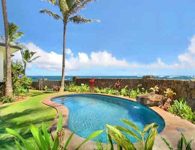 Poipu house rental - Honu La'e Pool