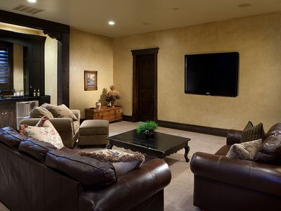 The Canyons house rental - Screening Room