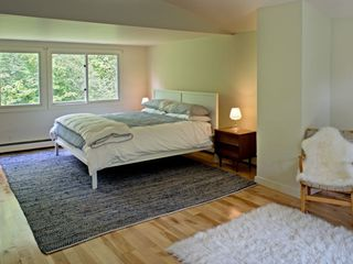 .king bed and oodles of space for a blow up bed or crib! - Great Barrington property vacation rental photo
