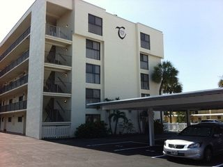 Cocoa Beach condo photo - Front of Condo Complex Building, Chateau By Sea